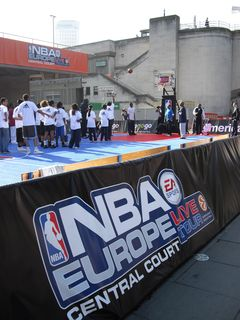 NBA comes to the South Bank
