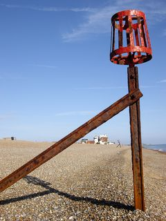 The beach near Aldeburgh