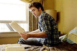Robert Pattinson in a profound moment