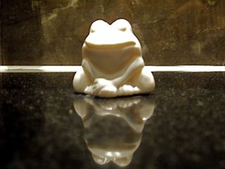 Froggy soap
