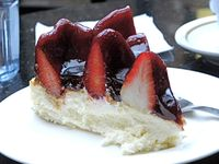 Strawberry cheesecake: well it was one of my five a day