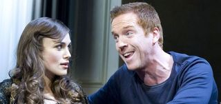Keira and Damian in The Misanthrope