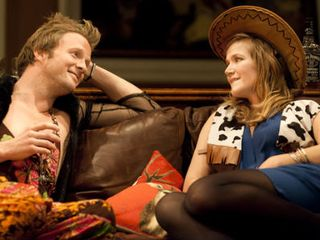 Rupert Penry-Jones and Jessica Hynes in The Priory