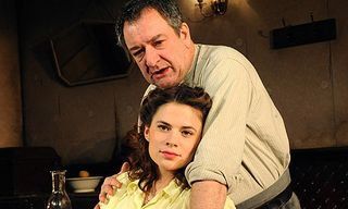 The wonderful Ken Stott with Hayley Atwell