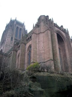 Liverpool's modern homage to medieval gothic:: Anglican Cathedral