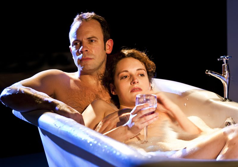 3Keir Charles and Phoebe Waller-Bridge in Mydidae, Soho Theatre, 5 December 2012 (courtesy of Simon Annand) 5
