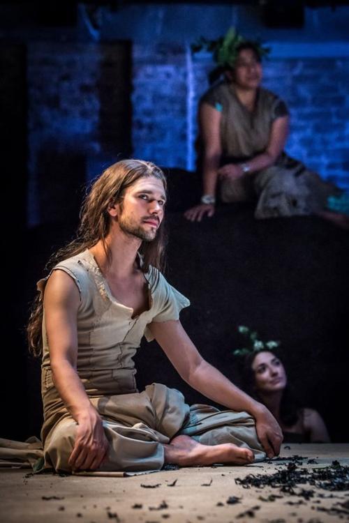 Ben Whishaw in Bakkhai. Almeida Theatre. Credit Marc Brenner_2.jpg