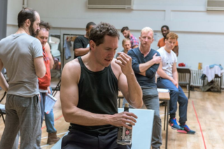 Bertie Carvel (Yank) - The Hairy Ape, Photos by Manuel Harlan