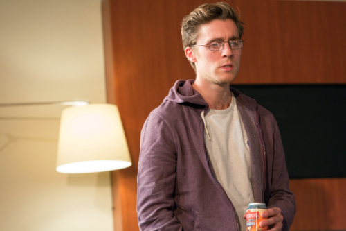 Jack Farthing (Andrew) in Wild at Hampstead Theatre. Photo by Stephen Cummiskey (2)