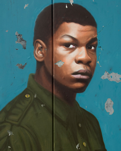 John Boyega in Woyzeck at The Old Vic. Photo by AKSE P19 Pentagram