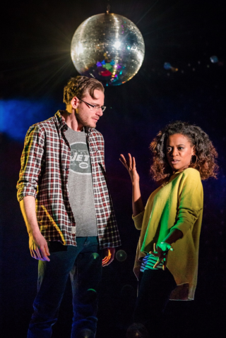 Dirty Great Love Story, Arts Theatre - Felix Scott and Ayesha Antoine, Courtesy of Richard Davenport for The Other Richard