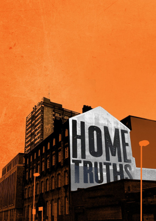 HOME TRUTHS  RUNS AT THE BUNKER THEATRE 17 APRIL TO  13 MAY (2).