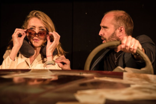 Sharon Maughan and Henry Everett in Autobahn, King's Head Theatre 4 - (c) Scott Rylander