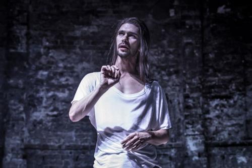 Ben Whishaw in Bakkhai. Almeida Theatre. Credit Marc Brenner.jpg