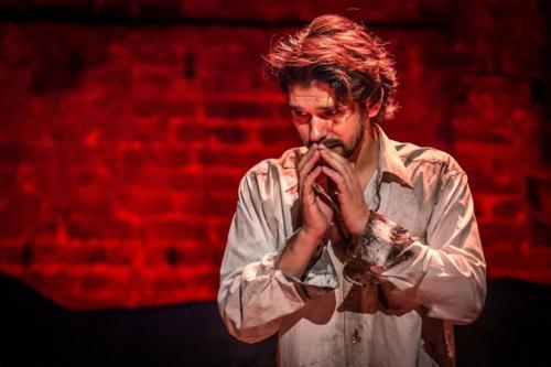 Ben Whishaw in Bakkhai. Almeida Theatre. Credit Marc Brenner_3.jpg