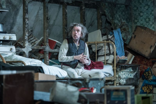 Timothy Spall (Davies) in The Caretaker at The Old Vic. Photo by Manuel Harlan (5)