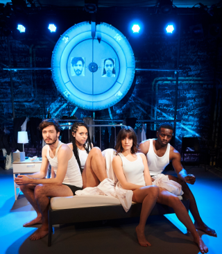 La Ronde, Alex Vlahos, Amanda Wilkin, Lauren Samuels and Leemore Marrett Jr (courtesy Ray Burmiston) 11