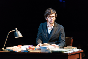 Ben Whishaw (Brutus) - Julius Caesar at the Bridge Theatre - Photo credit Manuel Harlan