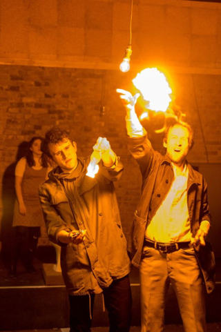 Harry Melling and Mark Arends in The Angry Brigade ∏Manuel Harlan