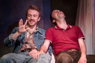 As Is, Steven Webb & David Poynor,Trafalgar Studios, 1 July - 1 August 2015. Courtesy Scott Rylander-045
