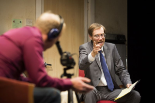 The Mentalists. Stephen Merchant as Ted and Steffan Rhodri as Morrie. Photo by Helen Maybanks (2).jpg