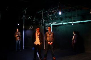 Plastic  Old Red Lion Theatre (Mark Weinman  Louis Greatorex  Thomas Coombes and Madison Clare) - courtesy of Mathew Foster