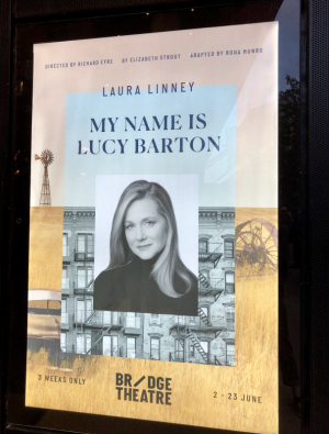 my name is lucy barton poster laura linney