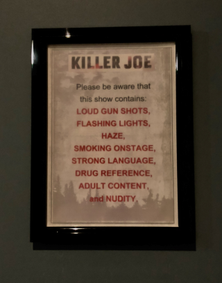 Killer Joe warning sign rev stan instagram