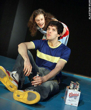 Vernon God Little Young Vic colin morgan mariah gale