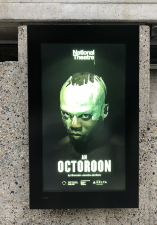 An Octoroon national theatre poster