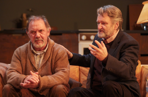 David Bamber & Neil McCaul in Rosenbaum's Rescue at Park Theatre. Photo by Mark Douet _50A0544