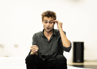 Douglas Booth (Jeremy) in Rehearsals for A Guide For The Homesick - (c) Helen Maybanks_23