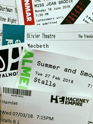 Theatre tickets rev stan