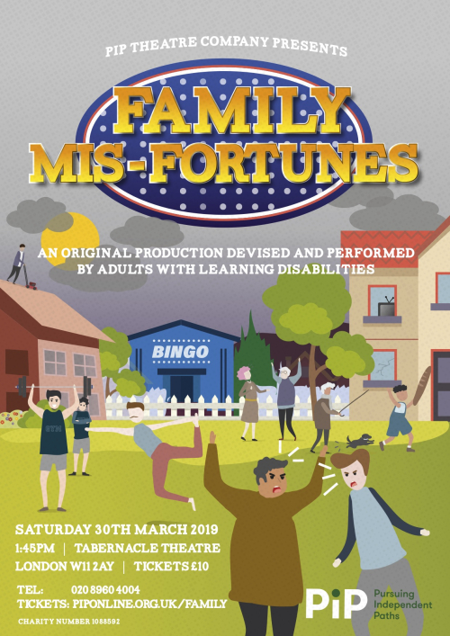 Family Mis-Fortunes E-Flyer