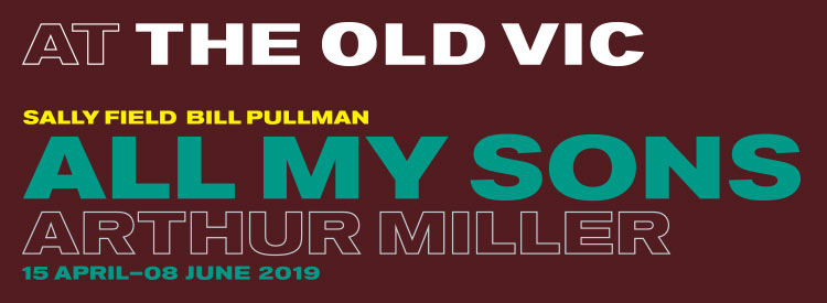 All my sons banner old vic