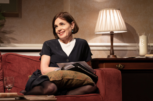 Elizabeth McGovern (Anne) in Starry Messenger by Marc Brenner
