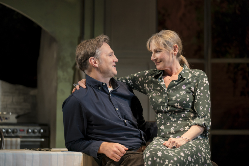David Morrissey and lesley sharp the end of history johan persson