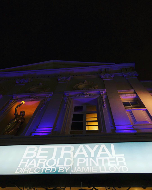 Betrayal harold pinter theatre