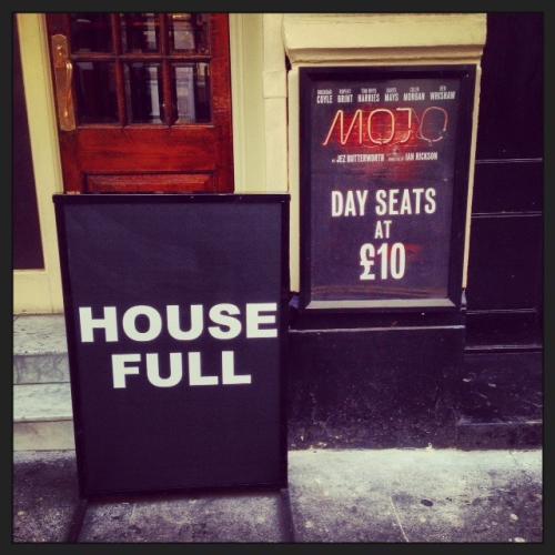 Mojo house full sign