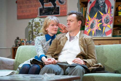 A Day in the Death of Joe Egg - (L2R) Claire Skinner and Toby Stephens. Photographer Credit - Marc Brenner