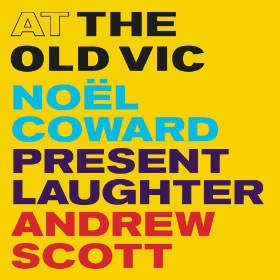 Present Laughter Old Vic poster