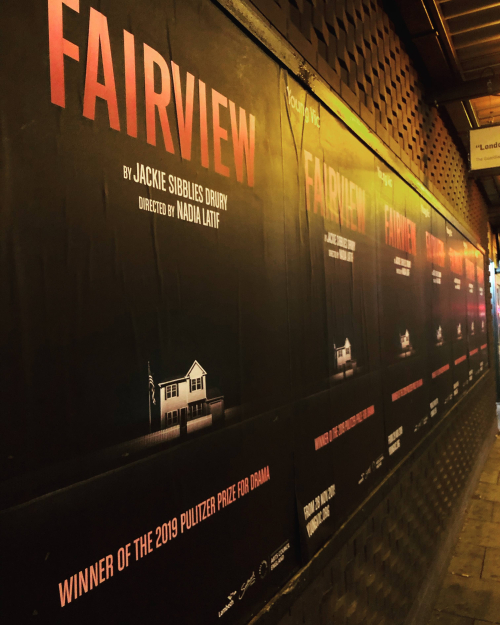 Fairview Poster Young Vic
