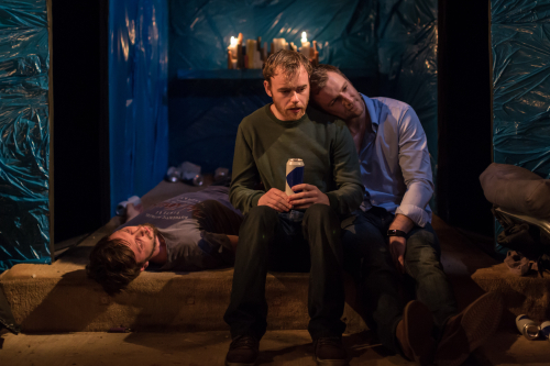Rhys Dunlop; Colin Campbell; Conor Madden as Pa  Barry and Cusack photo Ste Murray