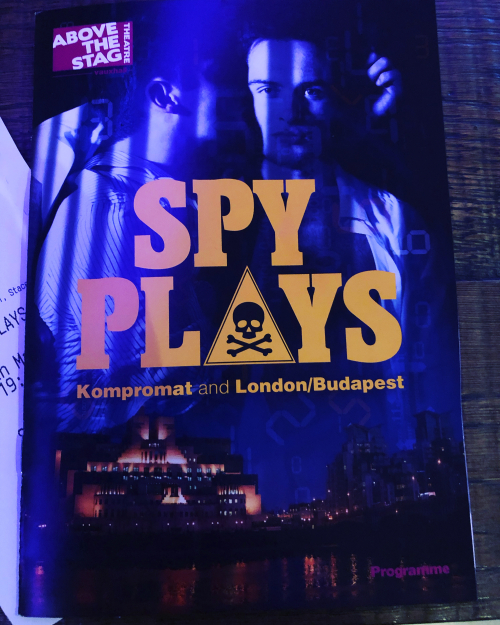 Spy Plays programme