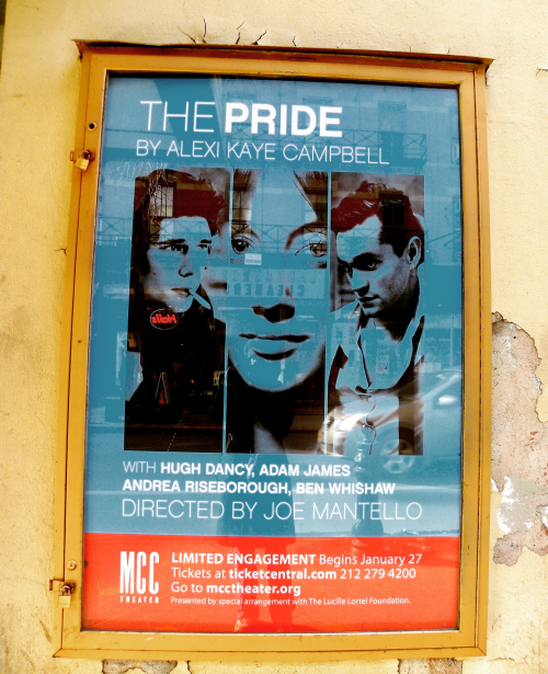 Pride Lucille Lortell theatre poster