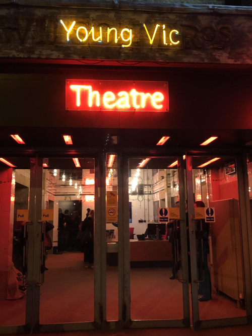 Young Vic neon sign