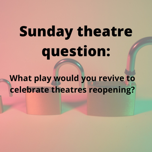 Sunday theatre post lockdown play