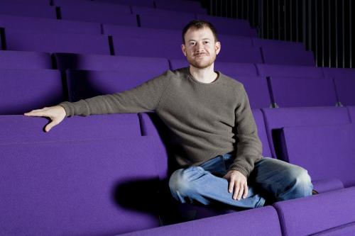 Owen Calvert-Lyons  Head of Theatre and Artist Development at Ovalhouse (credit Ludovic Des Cognets) 1