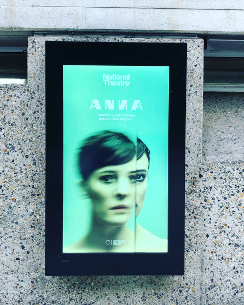 Poster Phoebe Fox in Anna  National Theatre