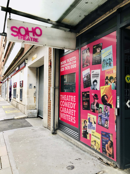 Soho Theatre lockdown Jan 2021